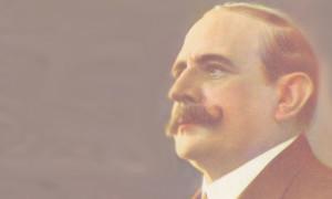 Ricardo Aldao. Hombre de la política y el fútbol. Designado titular del Comité Olímpico Argentino en 1924.
