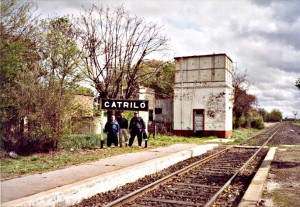 Catriló. Pueblo natal de Félix Orte.