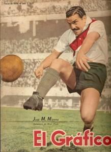 Una de las mayores glorias de nuestro fútbol: José Manuel Moreno.