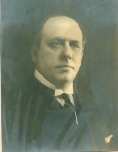 Virgilio Tedín Uriburu. Hombre de alcurnia. Presidente de la Asociación Amateurs de Football.
